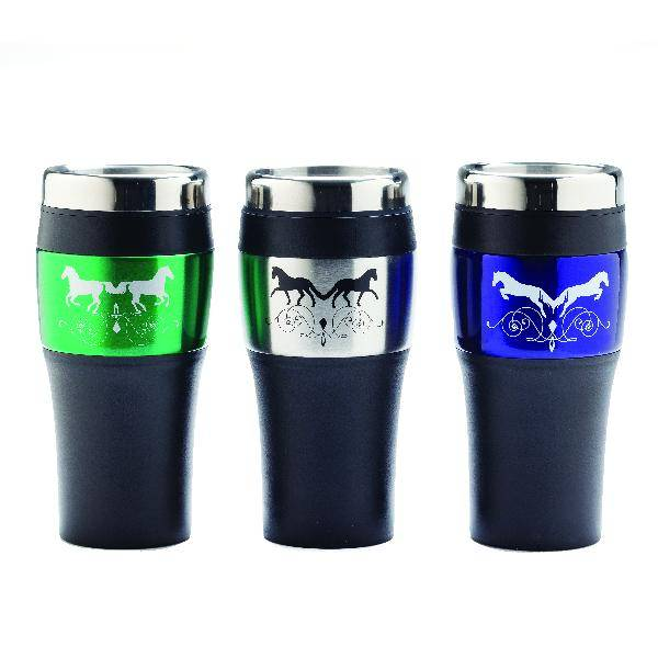 Dressage Duet Stainless Steel Travel Tumbler Mug