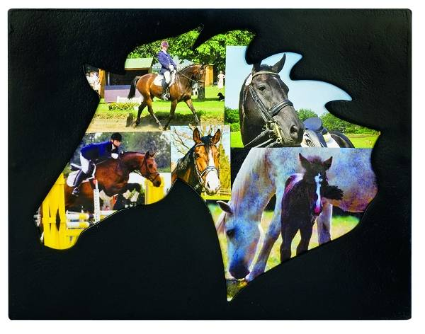Horse Head Cut Out Picture Frame
