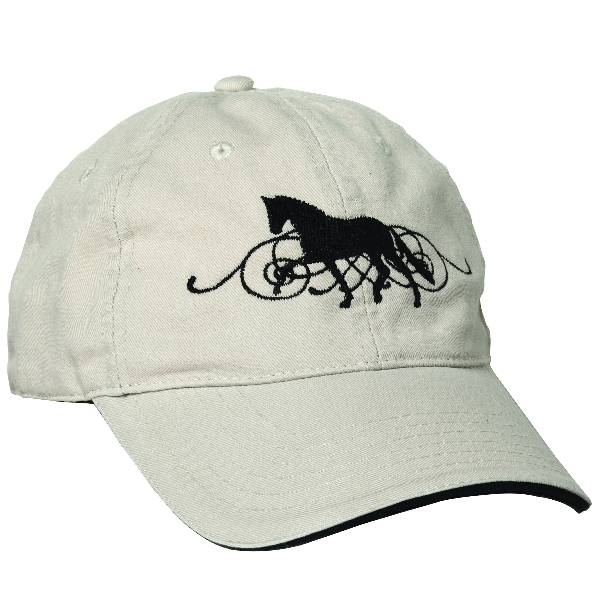 Kelley Dressage Horse with Scroll Cap