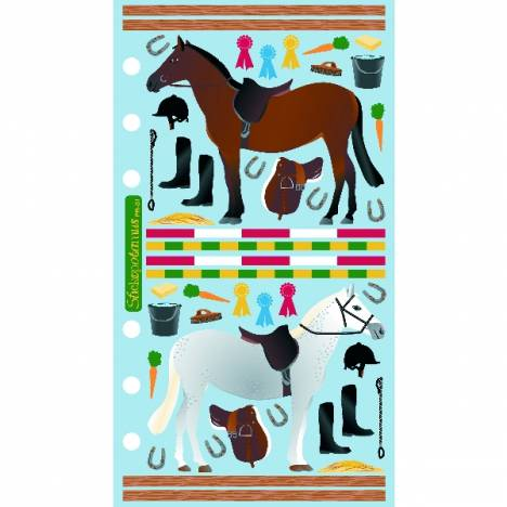 Classic Stable And Jumps Stickers