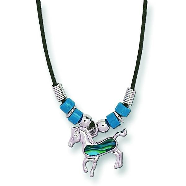 Prancing Pony Necklace