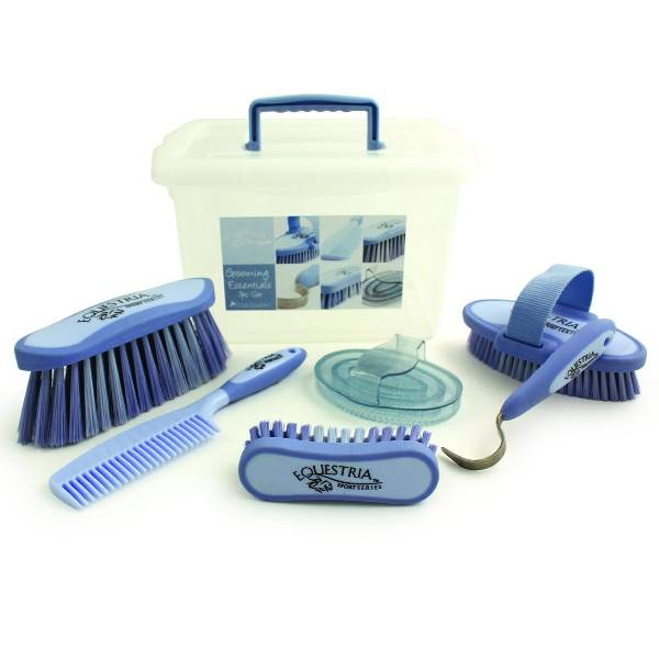 Equestria Sport 7-Pc Carry-Box Grooming Set