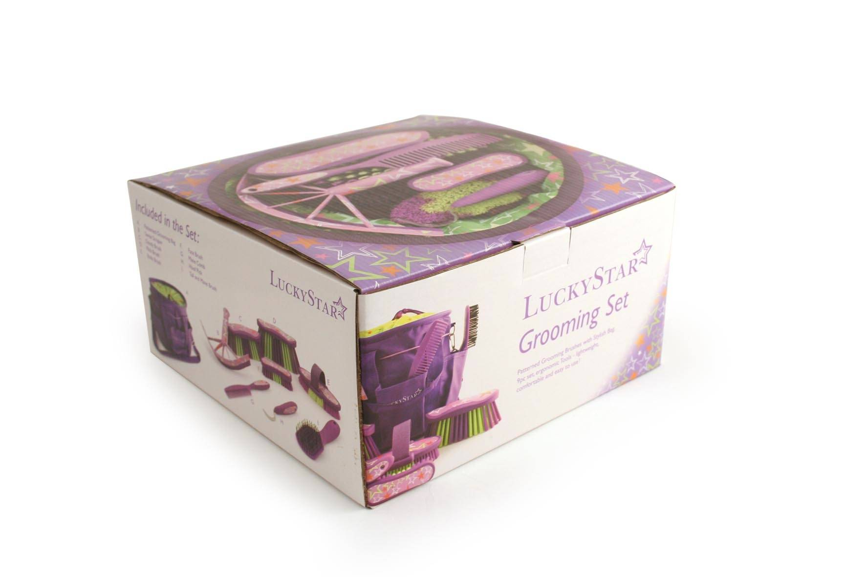 Equestria Sport Luckystar 9-Pc Grooming Kit