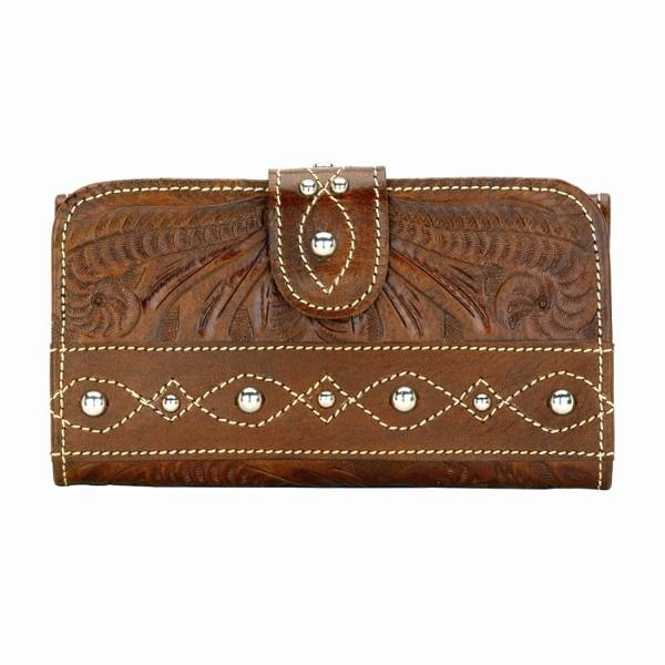 AMERICAN WEST Over the Rainbow Ladies' Tri-Fold Wallet