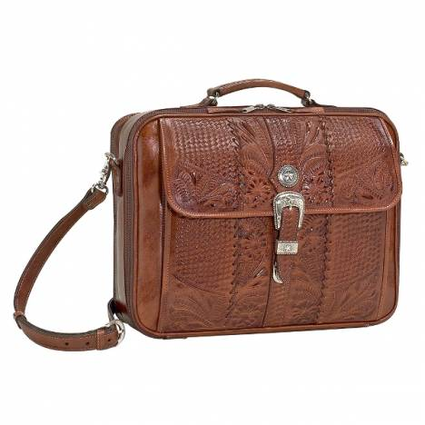 AMERICAN WEST Retro Romance Laptop Briefcase