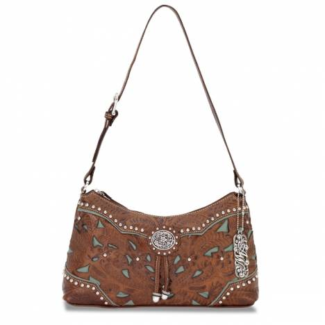 AMERICAN WEST Lady Lace Shoulder Handbag