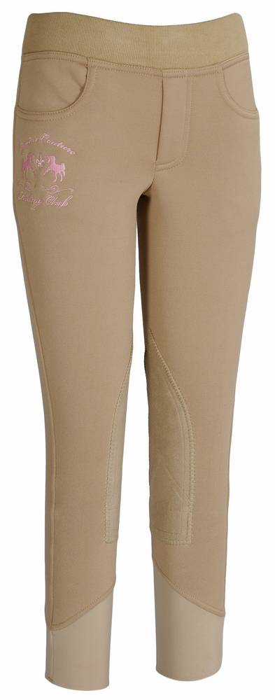 Equine Couture Girls Riding Club Pull On Breech