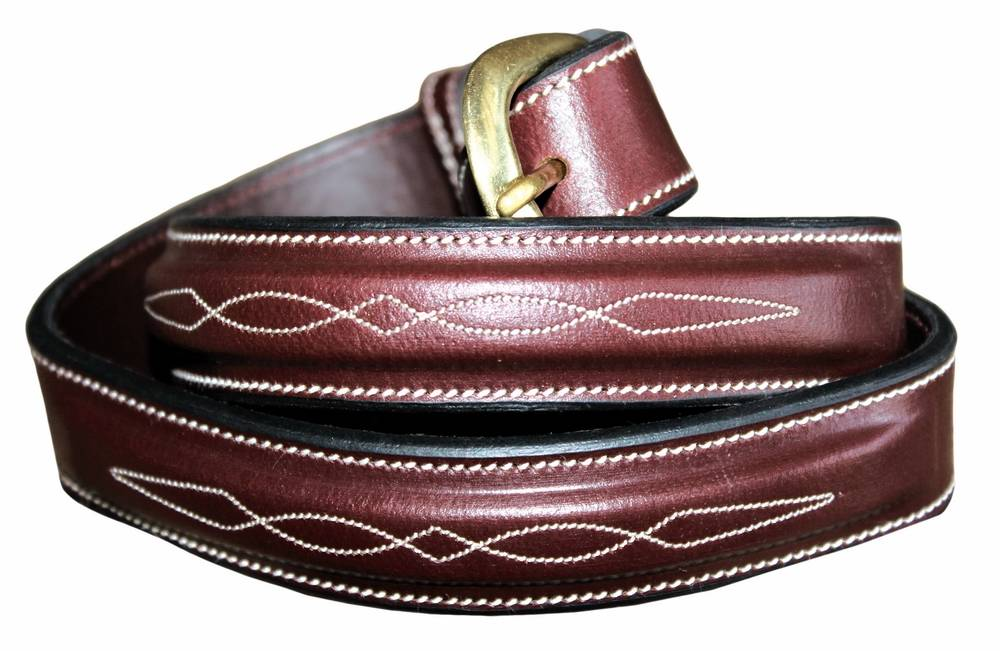 Henri De Rivel Fancy Leather Belt