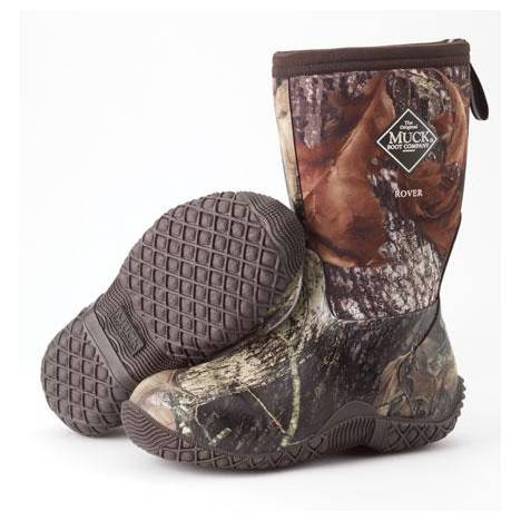 Muck Boots Rover II Kids Boots - Mossy Oak Break-Up
