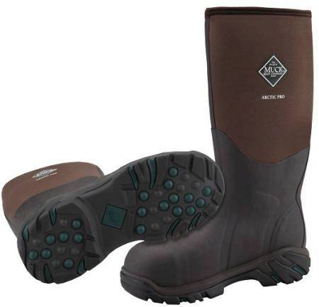 MUCK BOOTS Arctic Pro Steel Toe Work Boot