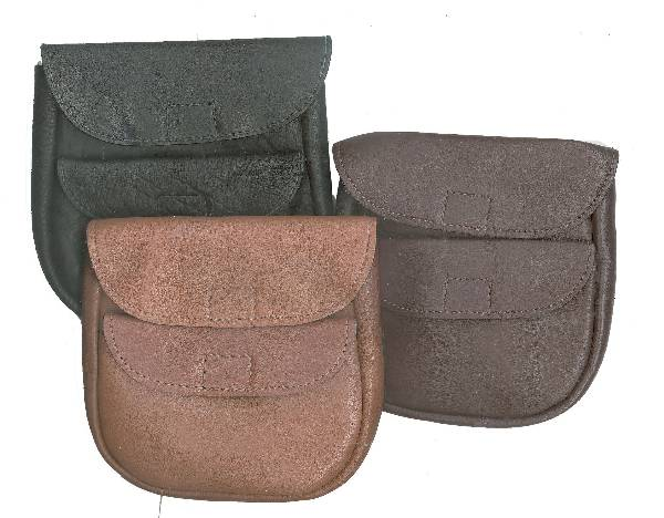 Tory Leather Double Treat Pouch