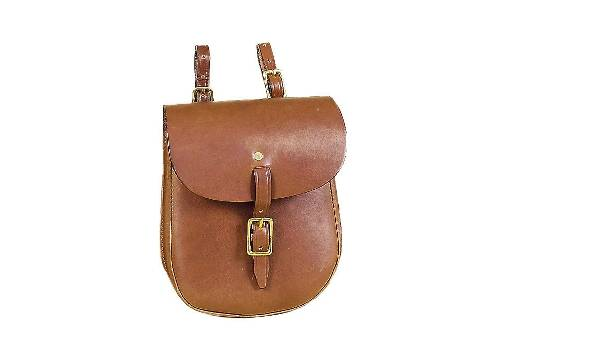 Tory Leather English Saddle Bag