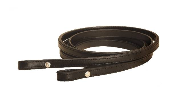 TORY LEATHER Partial Double & Stitched Bridle Leather Rein