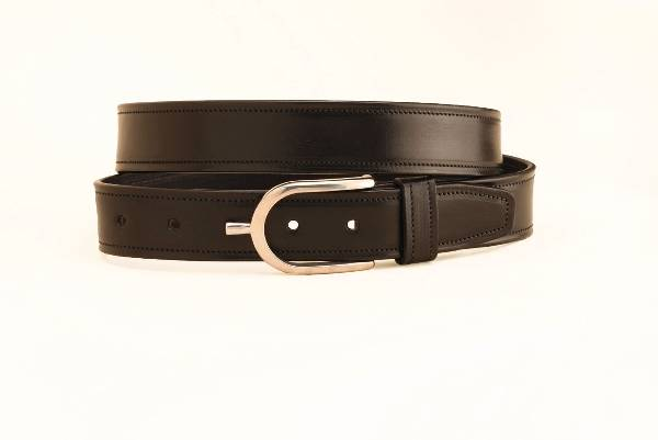 TORY LEATHER 1 1/4'' Belt with Spur Buckle