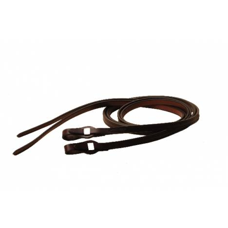 TORY LEATHER Quick Change Partial Double & Stitched Split Reins - SS Loops