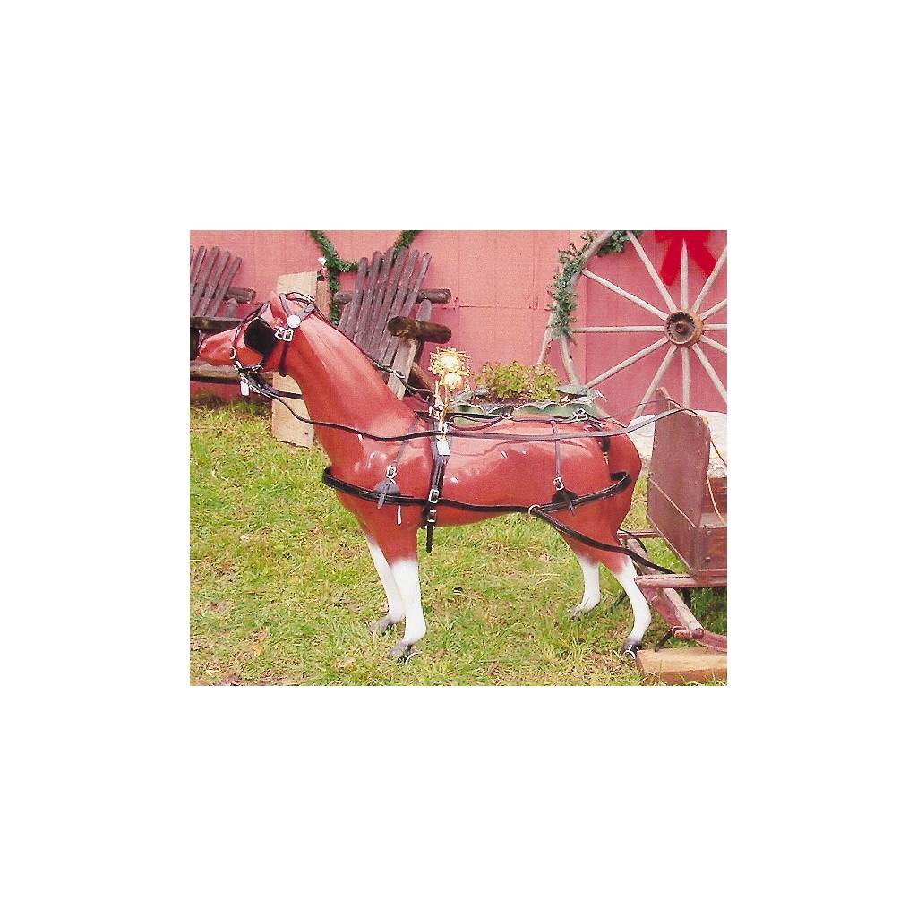 TORY LEATHER Pony Driving Harness