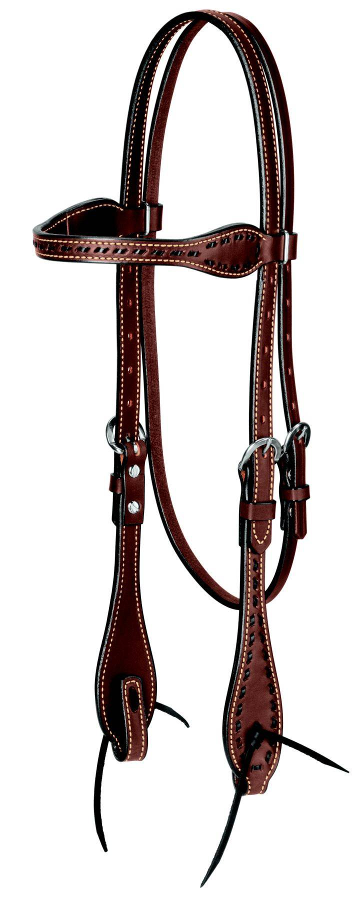 Weaver Leather Buckstitch Browband Headstall