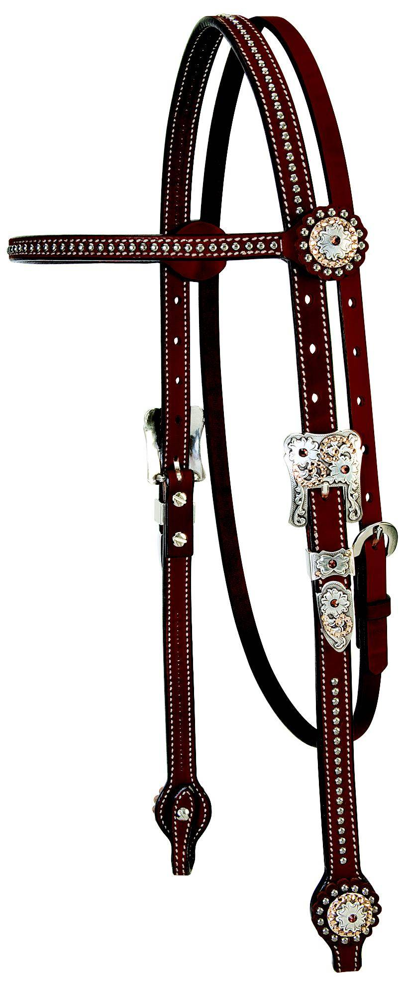 Weaver Leather Stacy Westfall Showtime Browband Headstall