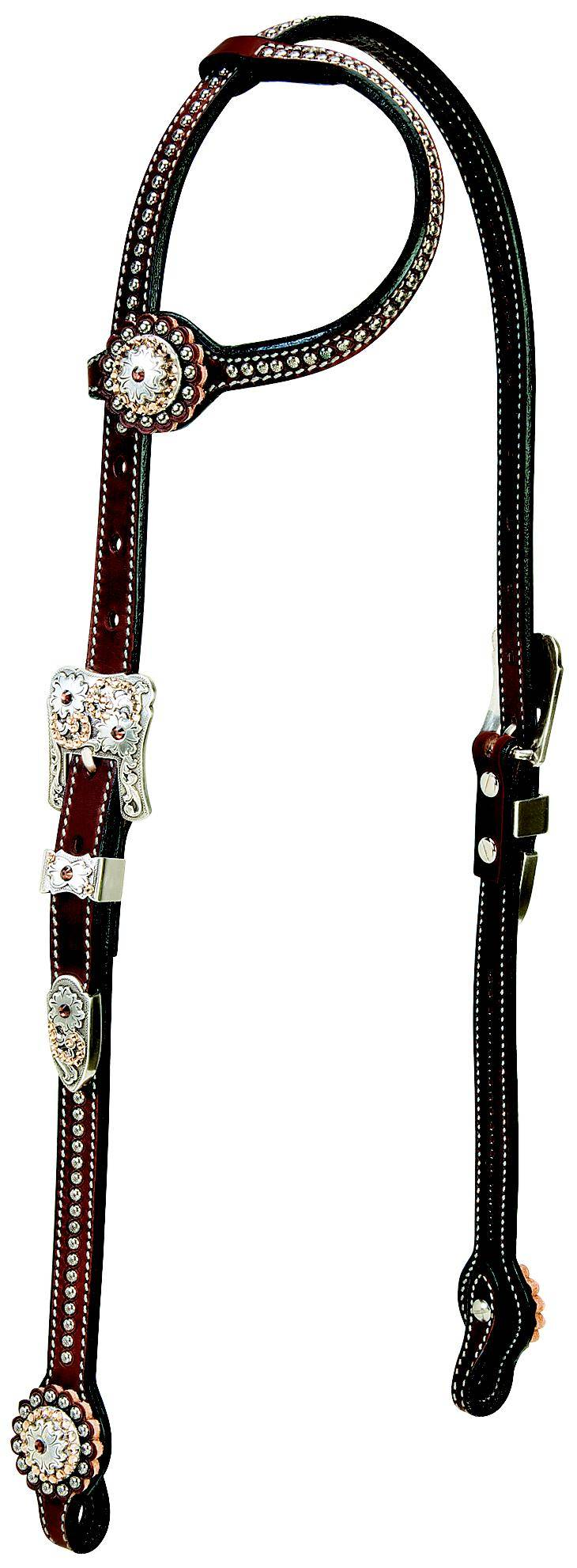 Weaver Leather Showtime Sliding Ear Headstall
