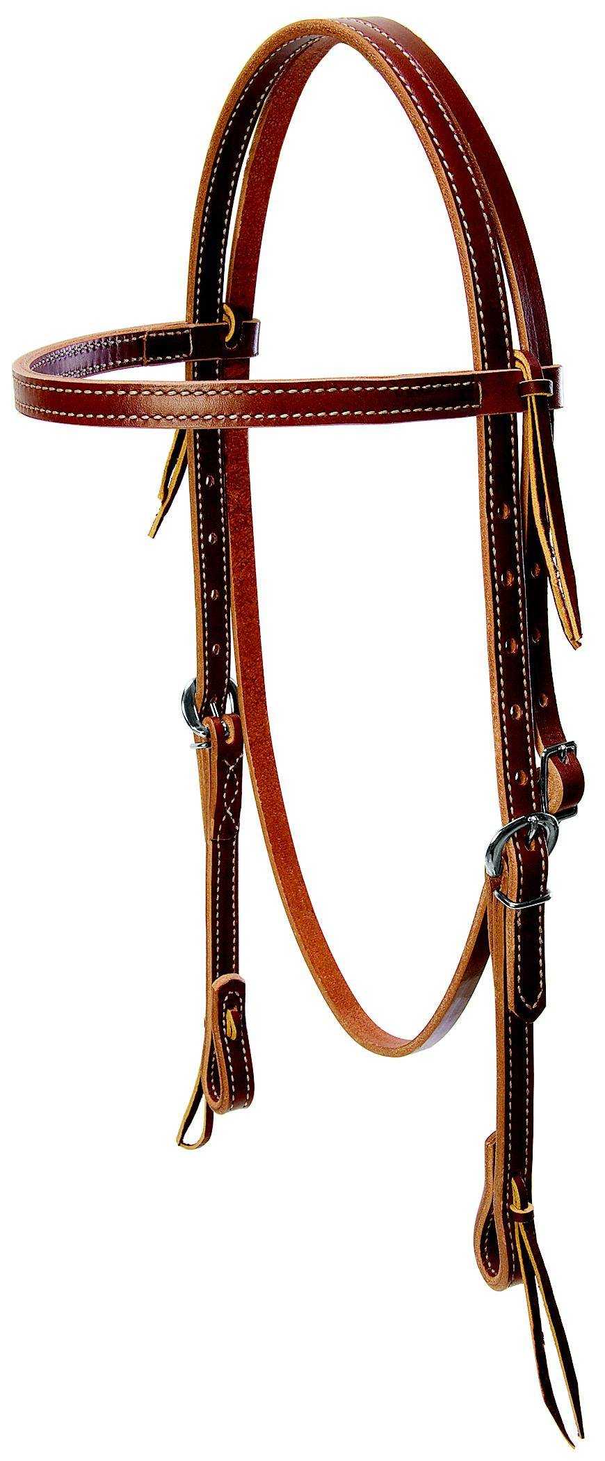 Weaver Leather Deluxe Latigo Browband Headstall