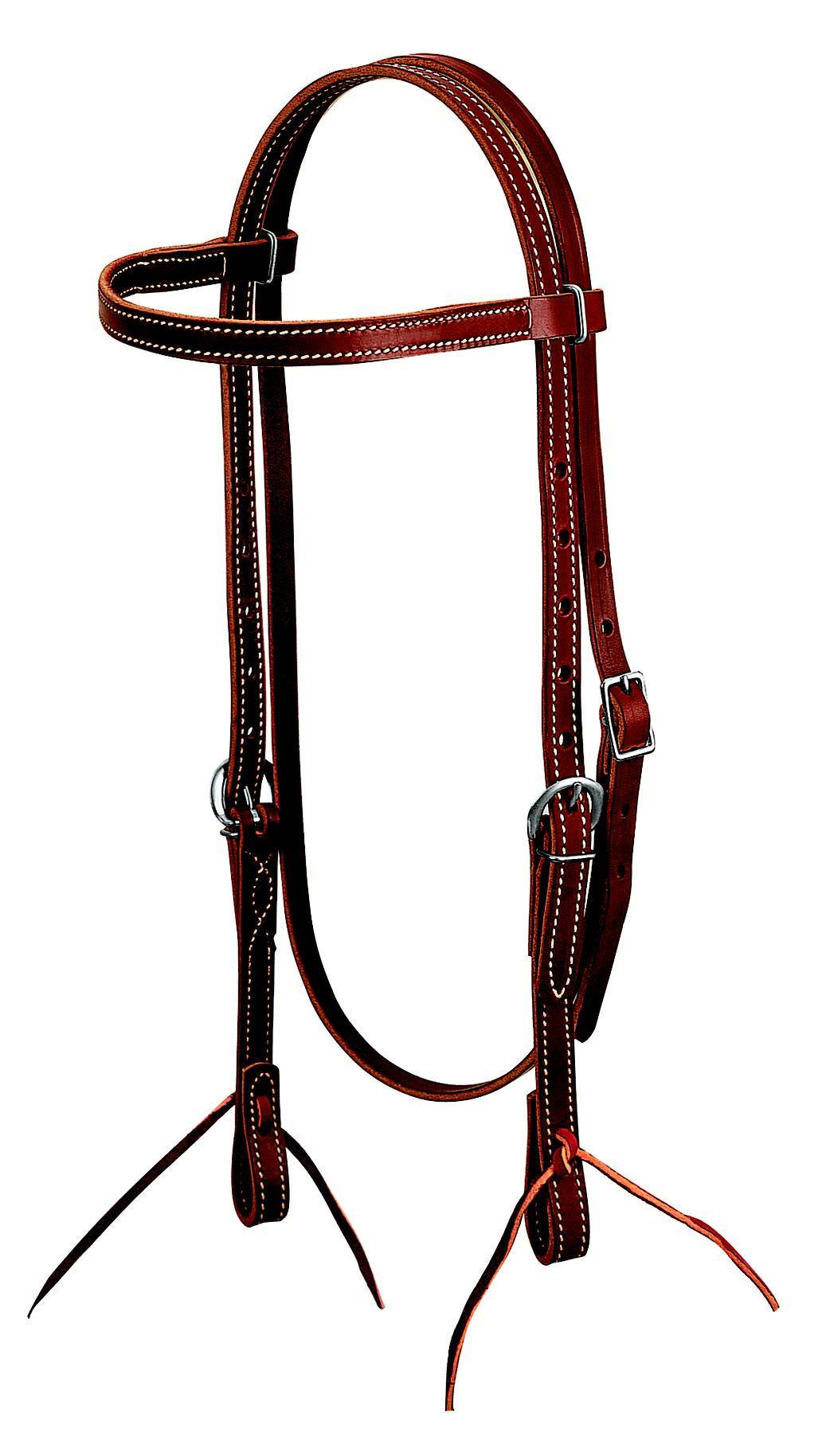 Weaver Leather Latigo Browband Headstall