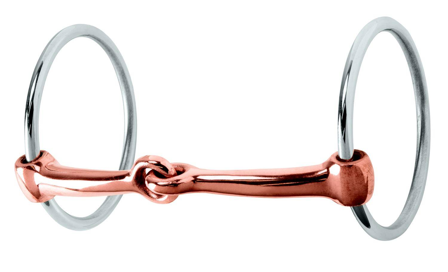Weaver Leather Ring Snaffle With Copper Mouth