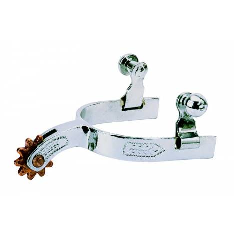 Weaver Leather Kids Spurs With Engraved Band