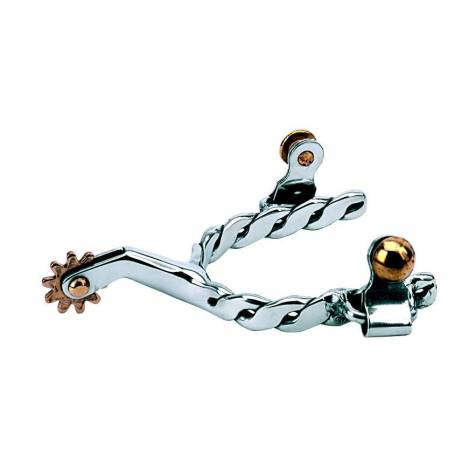 Weaver Leather Kids' Spurs With Twisted Band
