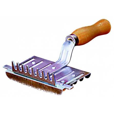 Weaver Leather 6 Bar Closed Back Curry Comb