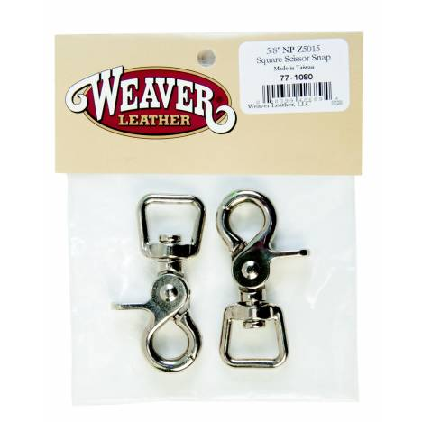 Weaver Leather Bagged Square Scissor Snaps