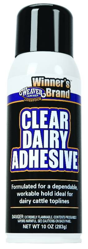 Weaver Leather Clear Dairy Adhesive
