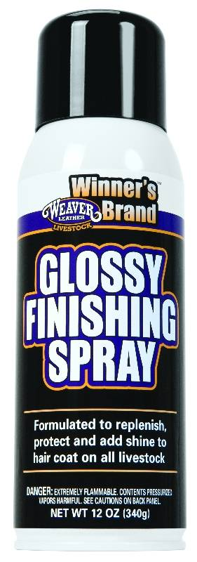 Weaver Leather Glossy Finishing Spray