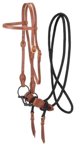 Harness Leather Training Bridle