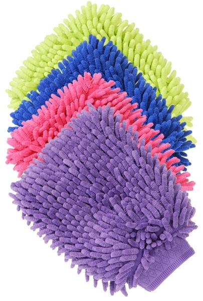 Tough-1 Lined Wash/Applicator Mitts - 6 Pack
