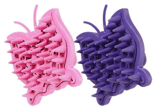 Tough-1 Butterfly Palm Grip Cone Tooth Curries - 6 Pack