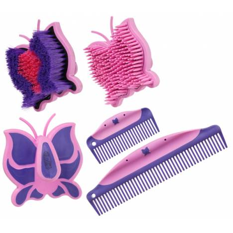 Butterfly Brush & Comb Collection - 4 Piece