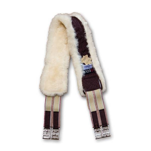 EOUS Sheepskin Dressage Girth