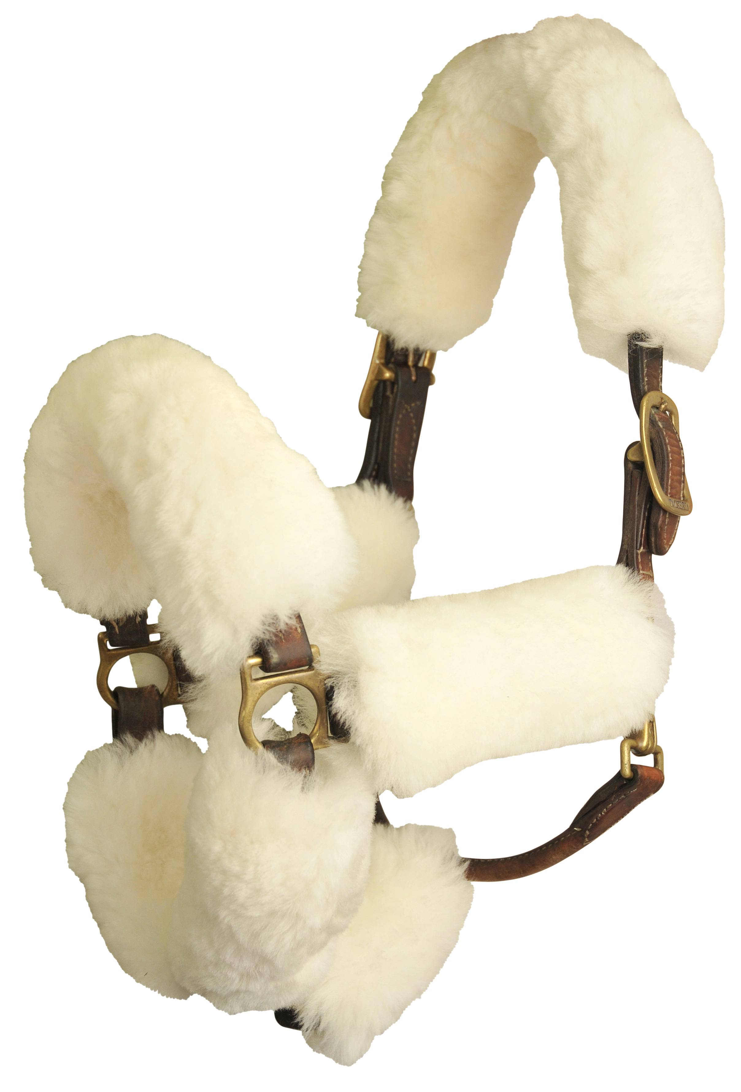 JMS Sheepskin Shipping Halter Cover - 7-Piece Set