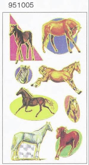 Horse Stickers