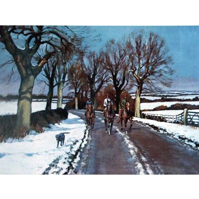 Xmas Morning (Horse Racing) By: Neil Cawthorn