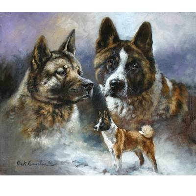 The Akita By: Mick Cawston