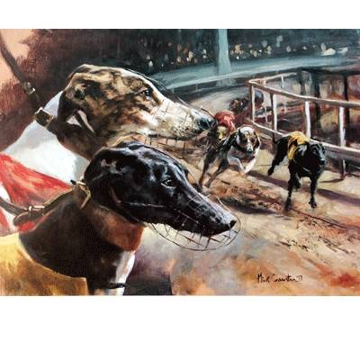 Greyhound By: Mick Cawston