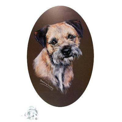Border Terrier by: Josephine Copley