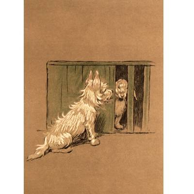 Neighbours from Hell (West Highland Terrier) Blank Greeting Cards - 6 Pack