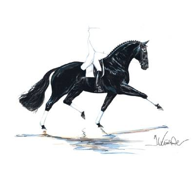 Las Vegas (Dressage) By: Jan Kunster, Matted