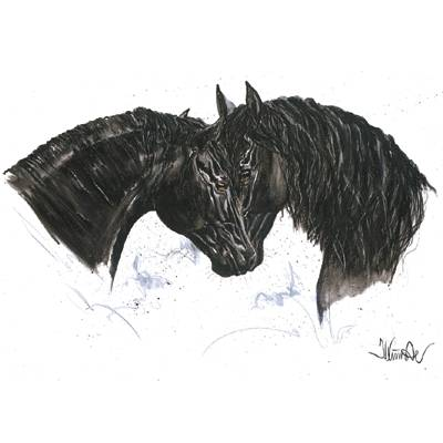 Paint it Black (Friesian) By: Jan Kunster