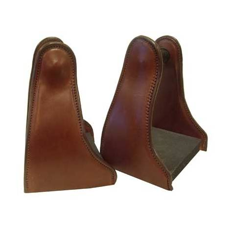 Shenandoah Leather Covered Trail Stirrup