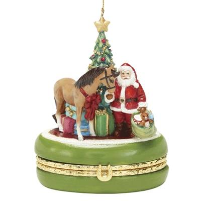 Breyer 2011 Golden Memories Treasure Box Ornament