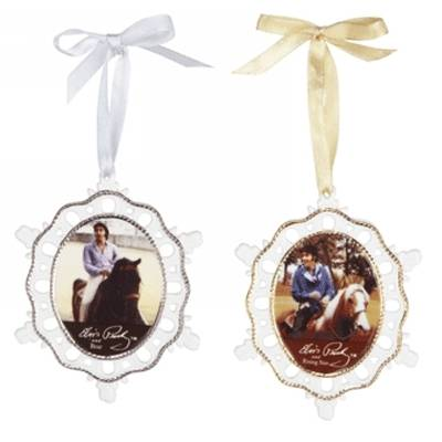 Breyer Elvis Rising Sun and Bear Ornament Set