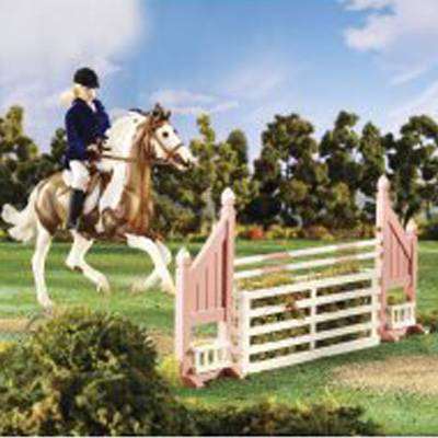 Breyer Traditional Brush Box Jump